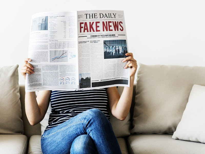 Fake news is undermining the mainstream media
