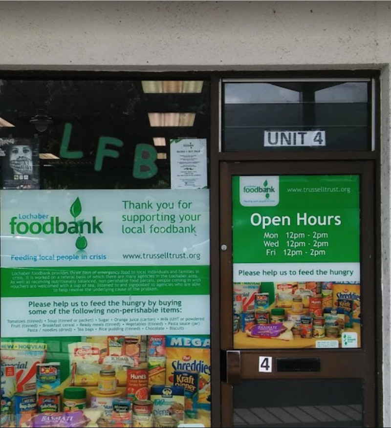 There are 2000 food banks in the UK