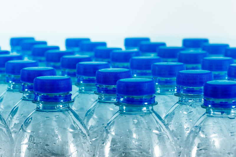 Plastic bottles are bulky and expensive to collect for recycling